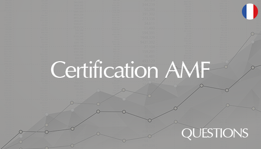 Internal AMF certification – Questions database 2020