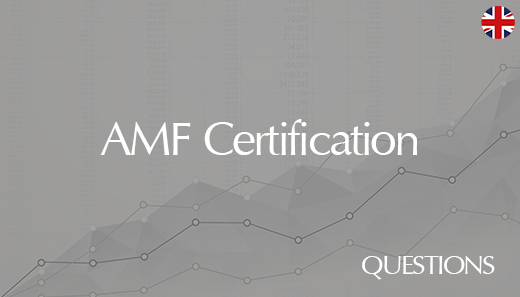 External AMF certification – Questions database September 2020
